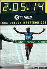 Flora London Marathon 2008 Winner
